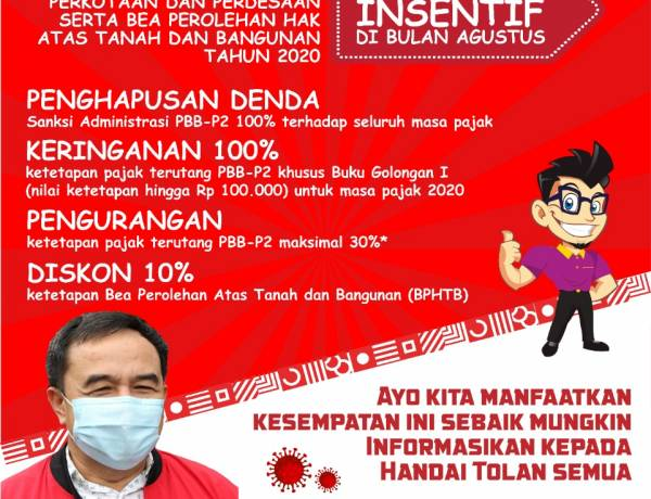Pemkab Tangerang Obral Insentif Pajak, PBB dan BPHTB Tak Didenda