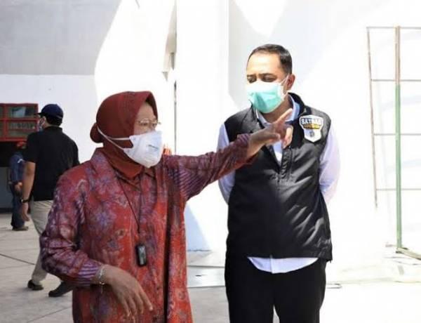 Cek Penyaluran Bansos Covid-19 , Mensos Risma Sidak ke Kota Tangerang