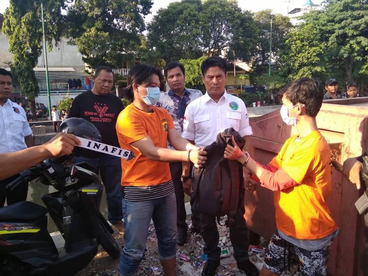 Terungkap Saat Rekonstruksi, Polsek Tambora Tangkap 3 Bandar Narkoba di Jembatan Besi