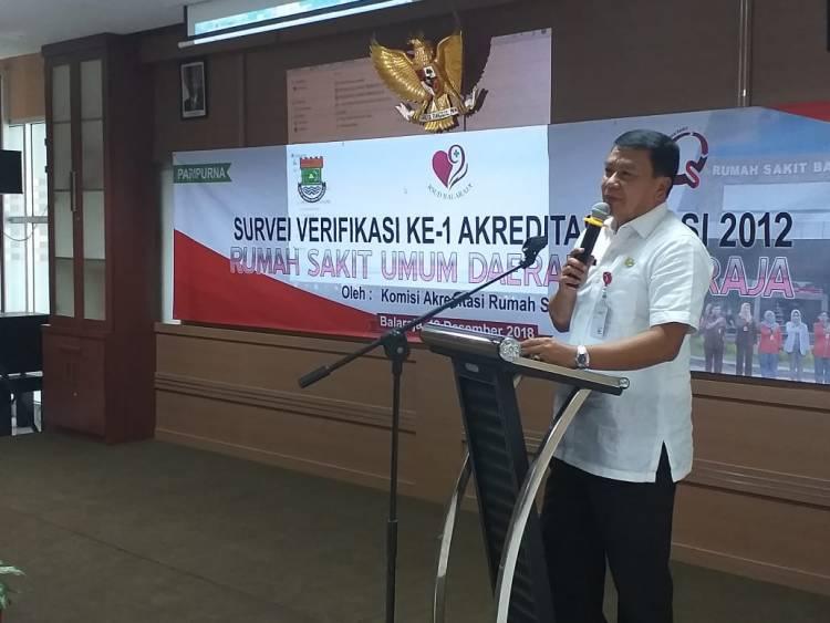 Tingkatkan Mutu Layanan, RSUD Balaraja Akreditasi Versi 2012