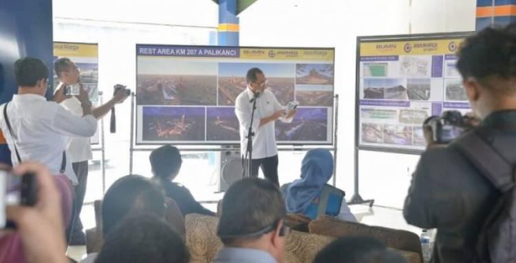 Tol Trans Jawa Sudah Nyambung, Menhub Pamer Peta Kuliner