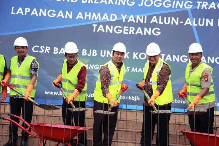 Pakai Dana CSR Bank BJB, Pemkot Renovasi Alun-Alun Kota Tangerang