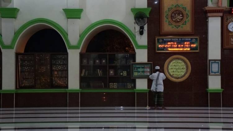 Hari Pertama Ramadan, Masjid di Kota Tangerang Ikuti Anjuran Pemerintah