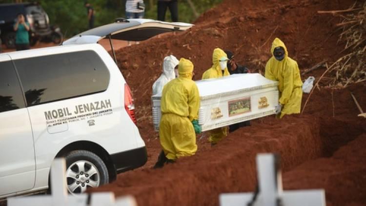 4.550 Jenazah Pasien Covid-19 dikuburkan, Kini TPU Pondok Ranggon penuh