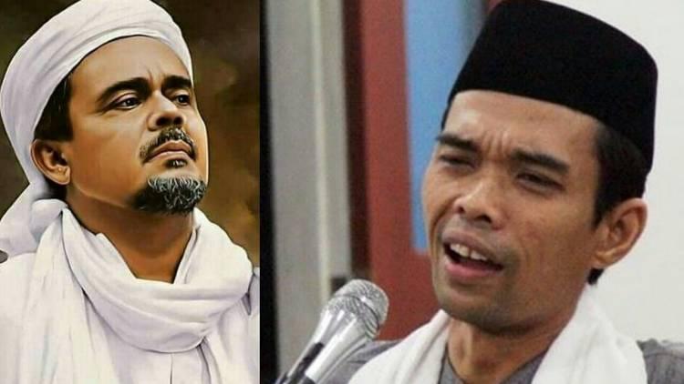 Ustas Abdul Somad dan HRS Disebut Tokoh Penista Agama, Kenapa?