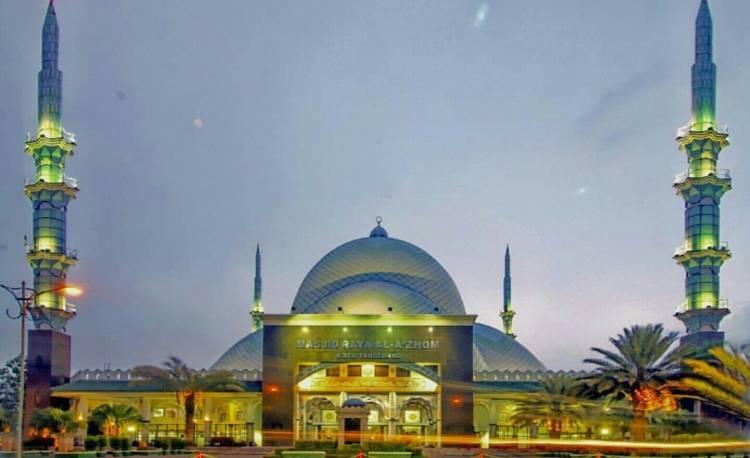 Allhamdulillah, Jelang Ramadhan Masjid Al Azhom Tetap Gelar Tarawih