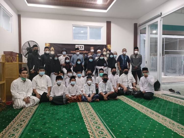 Dorong Pertumbuhan Hafiz Alquran, IJTI Kota Tangsel Gelar Santunan dan Buka Bersama