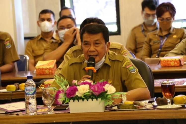 Sekda Kabupaten Tangerang Terima Kunker Virtual Kemenkominfo : Pelayanan Publik Jangan Berbelit-belit