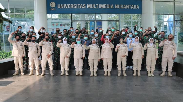 Prajurit TNI Ikuti Pelatihan Penggunaan dan Pengolahan 'Database' di UMN