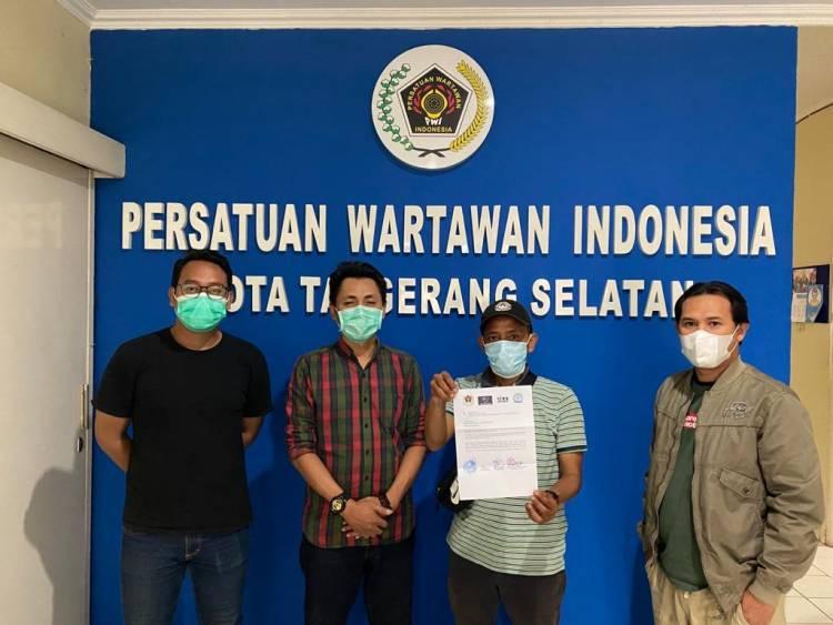 Pertanyakan Kasus Dugaan Intimidasi Wartawan, Organisasi Pers Layangkan Surat Ke Polres Tangsel