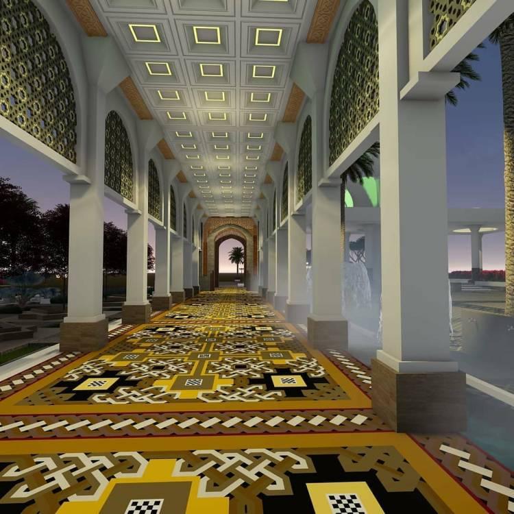 Masjid Raya Raudhatul Jannah Segera Dibangun, BRI Berikan Bantuan 1 Miliar