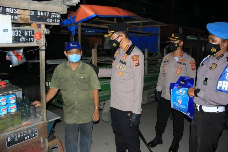 Kasus Penyebaran Masih Tinggi, Bupati dan Unsur Forkopimda Monitoring PPKM level 4 di Kecamatan Pasarkemis