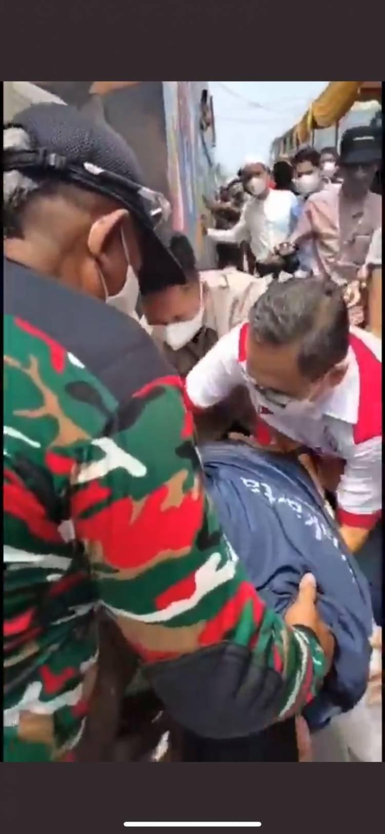 Anies Baswedan Kecebur Got Usai Tinjau Vaksinasi, Netizen : Pertanda Jadi Presiden